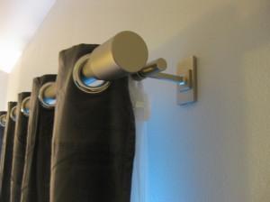curtain rod finials