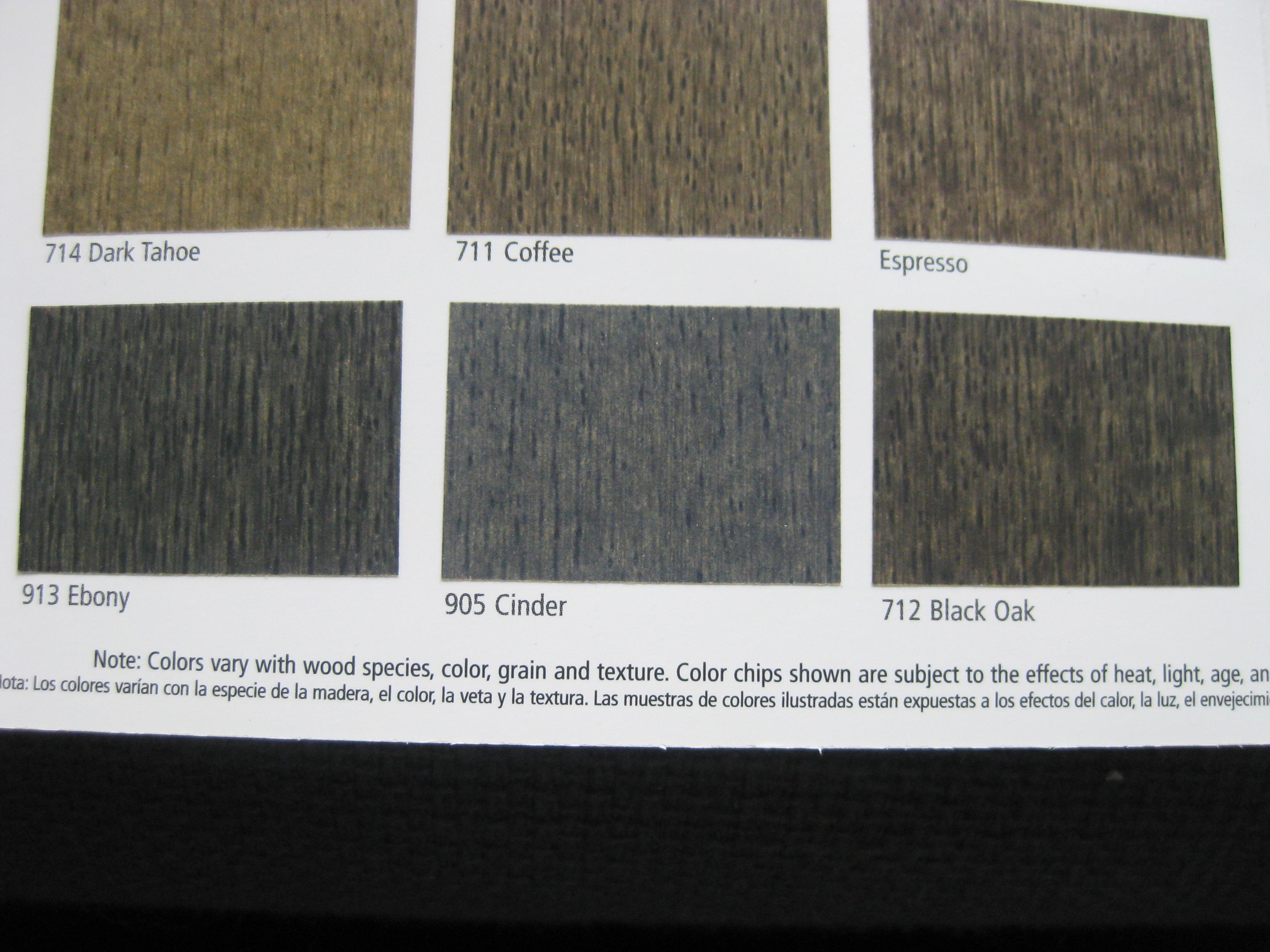 ebony wood stain   Roselawnlutheran