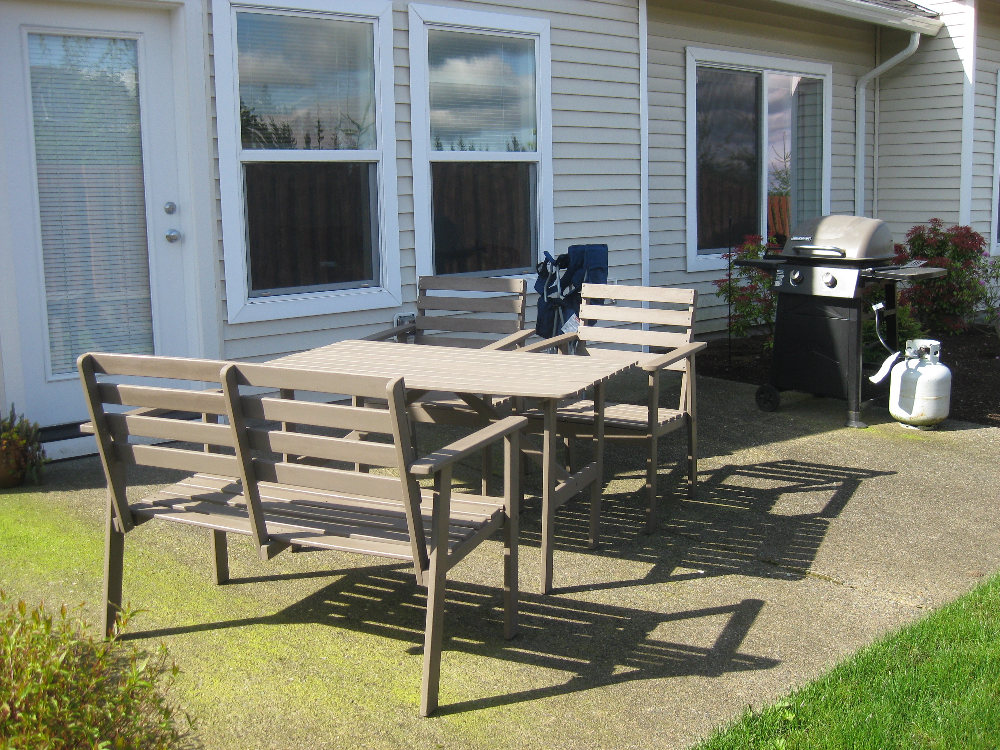 IKEA patio furniture project