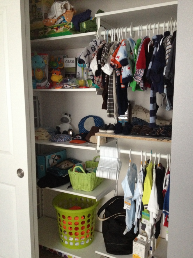 nursery-closet after