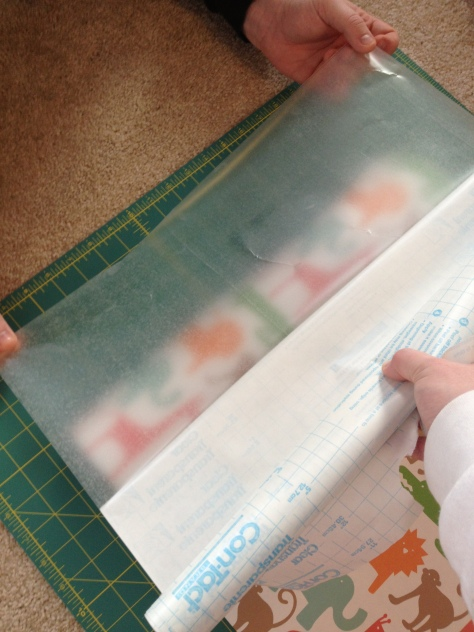 o's drawer liners-lining up contact paper