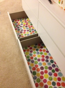 o's drawers liners-bottom drawers