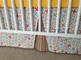 crib skirt-complete middle