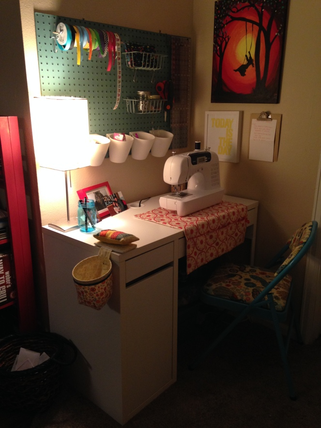 My little sewing nook!